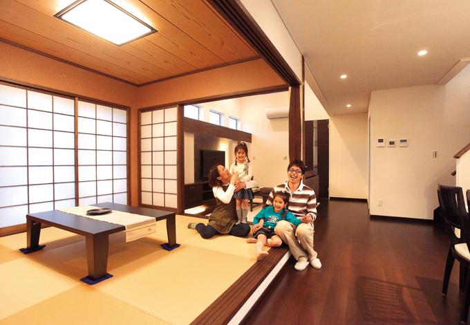 モダンと癒しに満ちた リゾート感覚で暮らす家