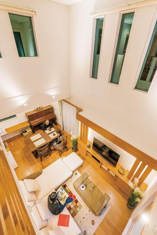 性能・デザイン・実用性のバランスがとれた健康住宅