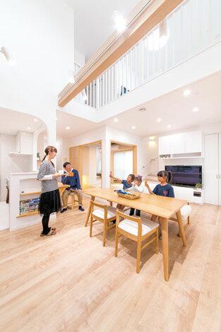暮らし方を元にした家づくり 具体的で実現可能な提案を