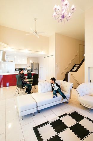 インパクト+ライフスタイル世界にひとつのガレージハウス