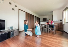 コスパの高い自由設計の家で 設備も空間も、ともに大満足