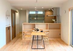「毎日ラクに、シンプルに暮らせる木の家」が完成しました。