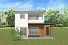 フジモクの家完成見学会「白×木を基調とした、素材感を楽しむ家」