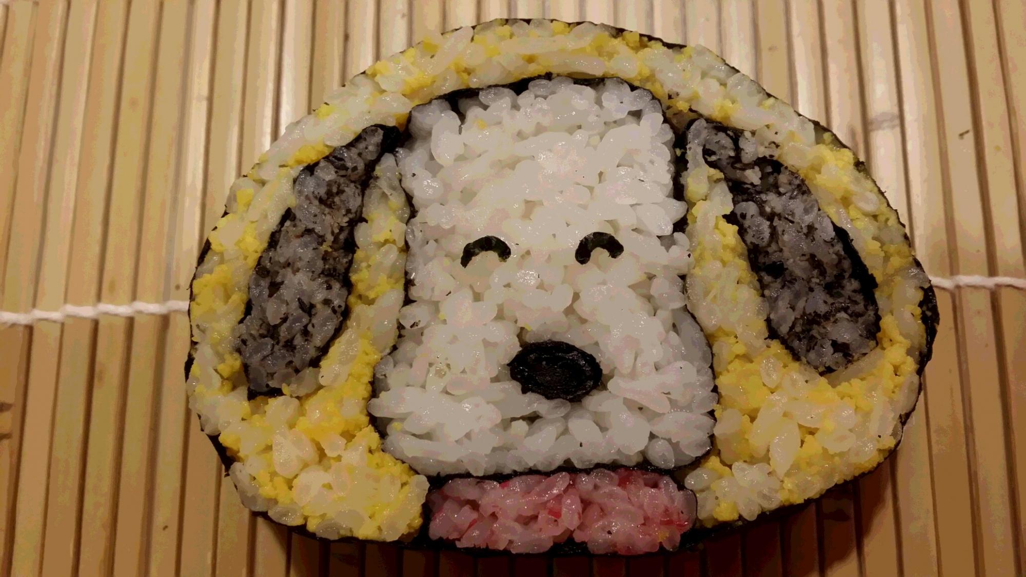 【楽しい!飾り巻き寿司】