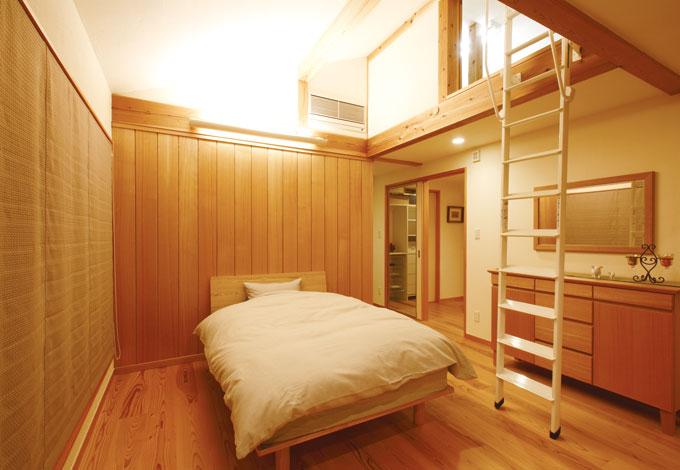 エコフィールド【自然素材、省エネ】夏はエアコンなしでも寝苦し くない。体に優しい環境は宿 泊体験で実感