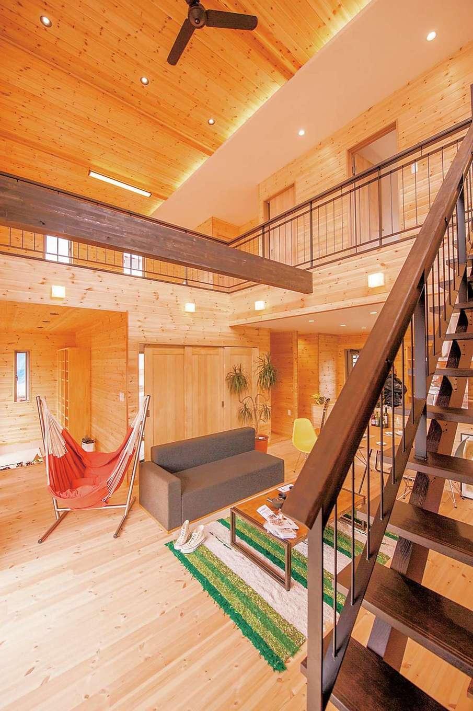 時間がゆっくりと流れるオール無垢&自然素材の家