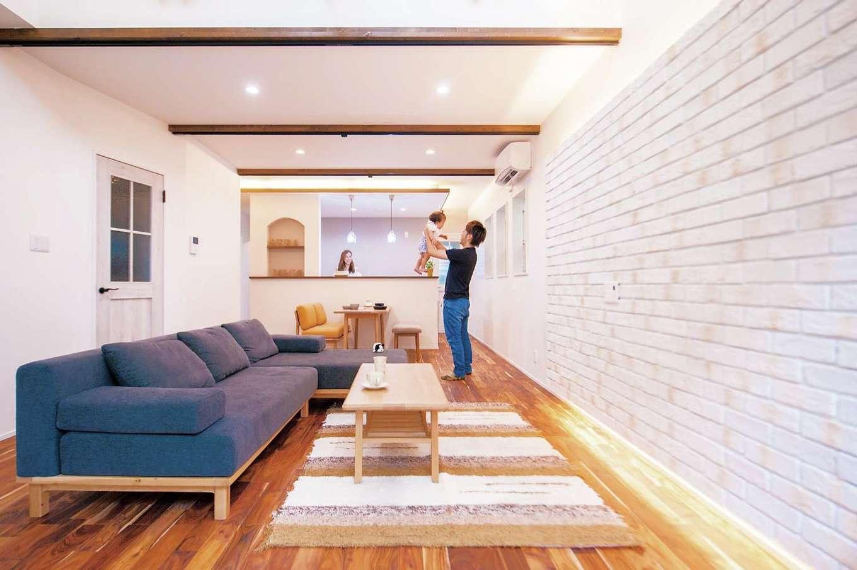 『田中建築工業』の設計士が自宅を設計したCafe風ハウス