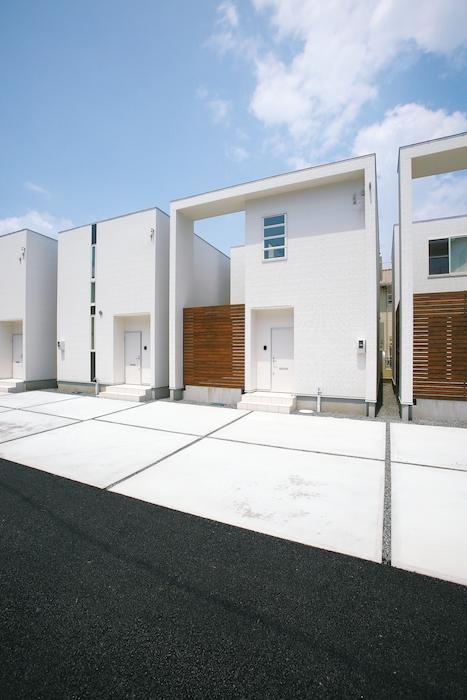 新しいカタチのデザイナーズ2世帯住宅「エクリュ」問合せ受付中