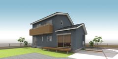 OPEN HOUSE in 清水町「間取りとインテリアにこだわった ヘリンボーンの床が映える住まい」