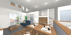 OPEN HOUSE in 三島「スキップフロアで遊び心いっぱいの楽しい住まい」