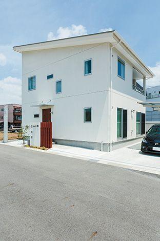 芹工務店【デザイン住宅、子育て、省エネ】構造的に強く、コストメリットもある四角いフォルムを希望