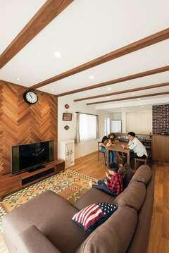 性能・間取り・デザイン、すべて叶ったカフェスタイルの家