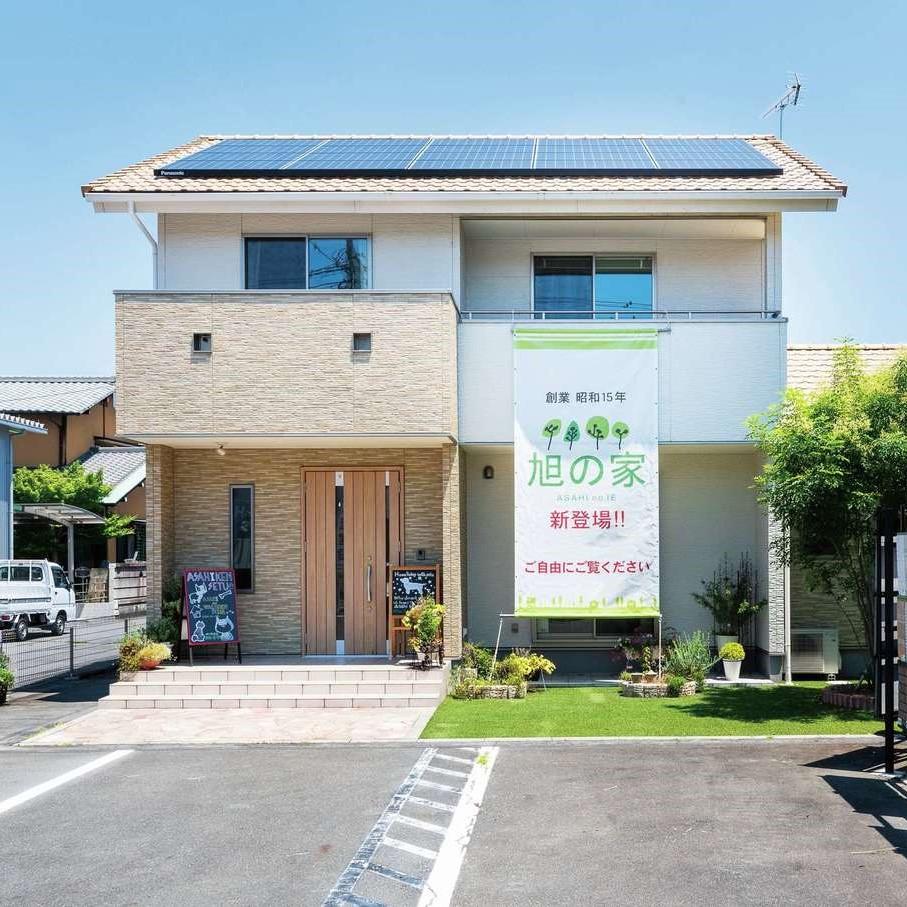 旭建設 富士展示場「旭の家」生活しやすい間取りやペットと暮らす空間を体感ください!