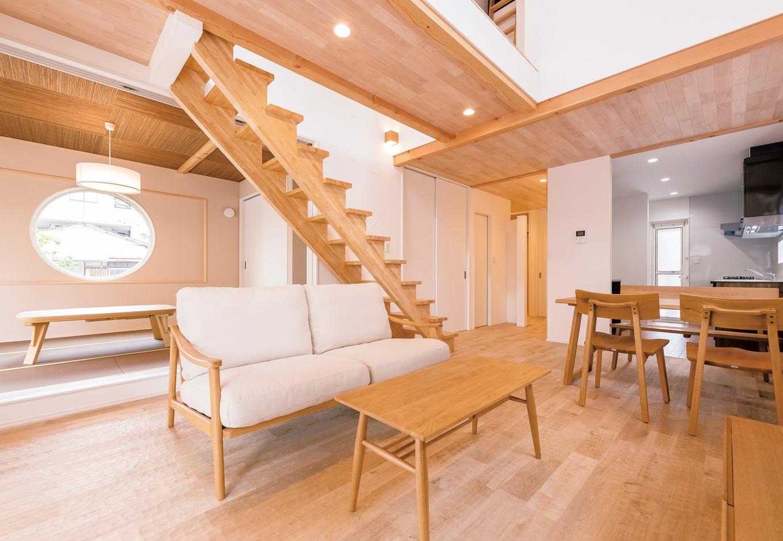 家族のお気に入りが詰まった、デザイン性の高い家
