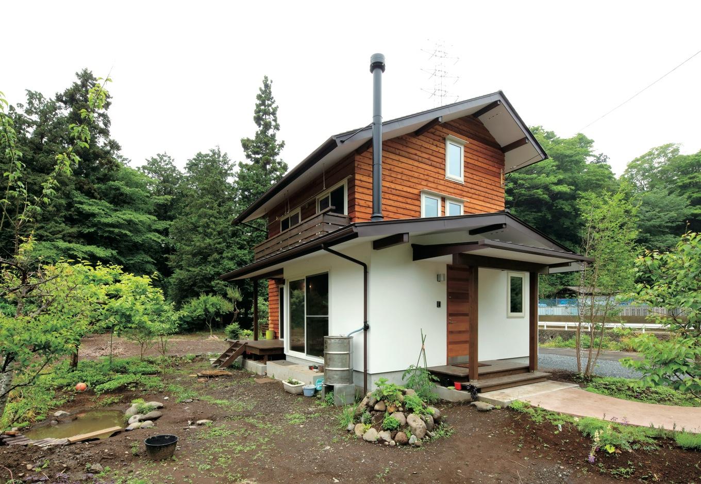 マクス (マクス一級建築士事務所)【子育て、趣味、自然素材】現在は畑やビオトープなどを少しずつ整備中。家が完成したあとも、楽しさが続く