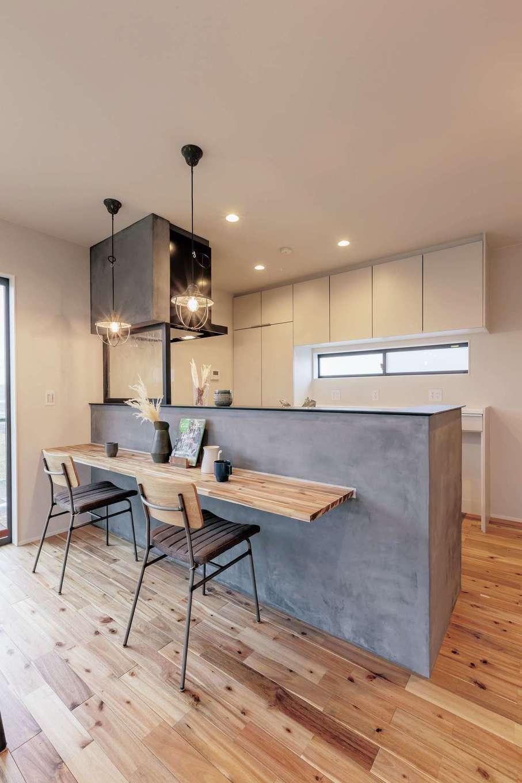 ARRCH アーチ【デザイン住宅、収納力、二世帯住宅】周囲の自然の風景を室内に採り込み、心がなごむ団らんのひとときを満喫できる