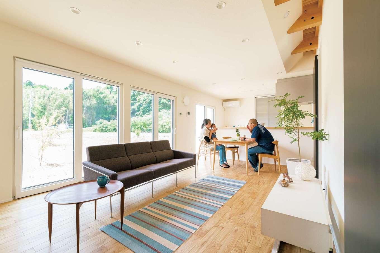 年中快適な温度・湿度を保つ 欧州レベルの高性能住宅