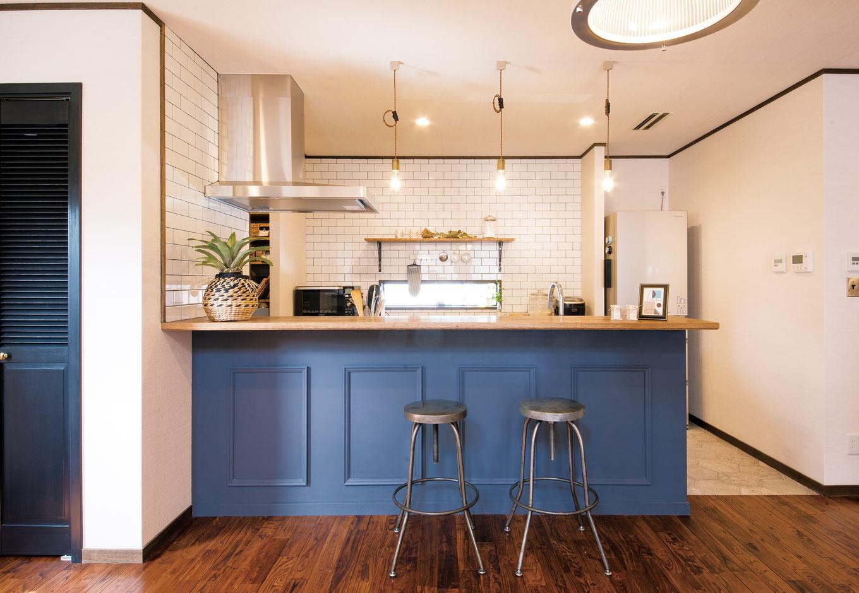 ヴィンテージ感が心地いいブルックリンスタイルの家