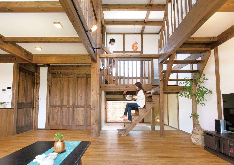 1,000万円台で夢を叶えた オール国産ひのきのモダンな家