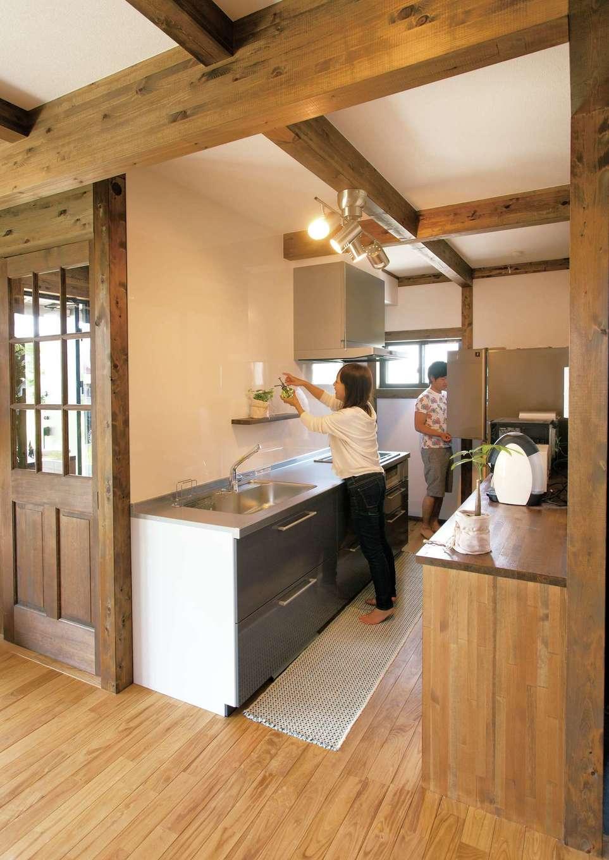 サイエンスホーム【1000万円台、デザイン住宅、自然素材】料理に集中できる独立型のキッチン