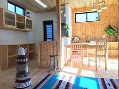《オープンハウス》オール無垢・オール漆喰造りのちょっと贅沢な新築住宅