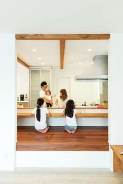 """5つの""""標準""""で安心&健やか 優れた性能が家族の未来を包む家"""