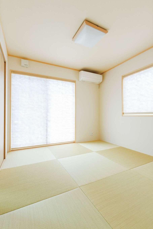 橋本組【デザイン住宅、子育て、間取り】LDKに続く和室スペース
