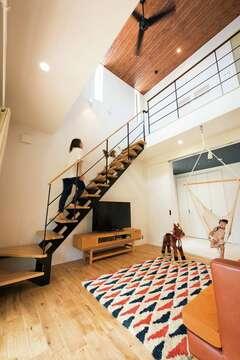 家具も含めてトータルで提案 男前×女子的デザインの家