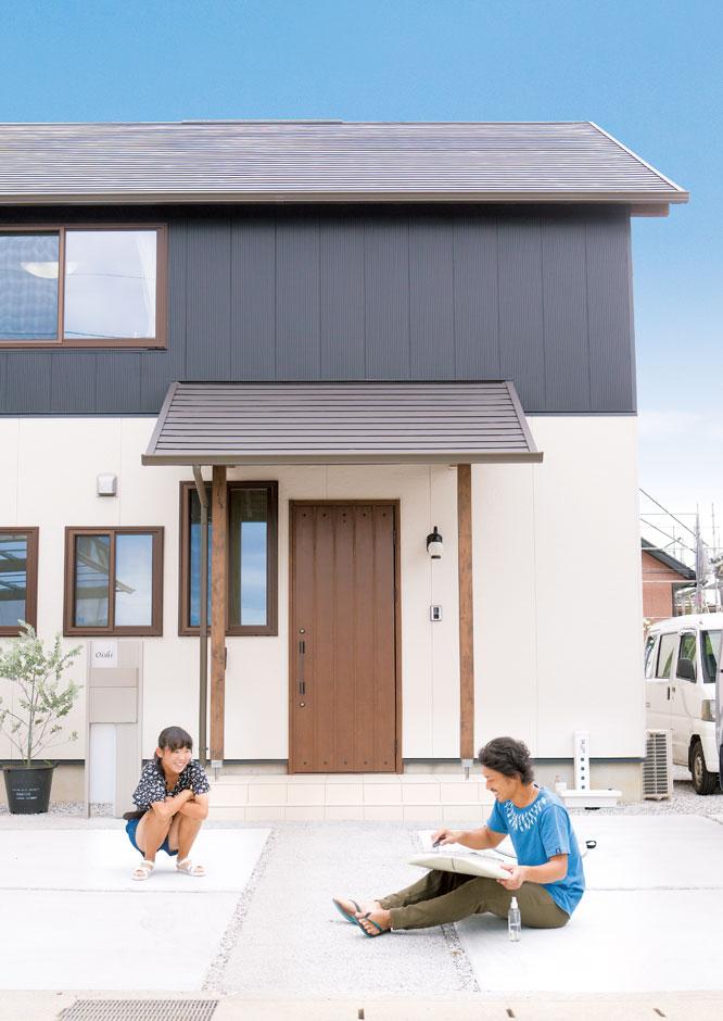サイエンスホーム【デザイン住宅、自然素材、省エネ】飽きのこないシンプルモダンな外観がお気に入り