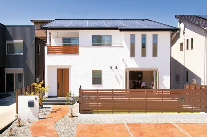 総額2,200万円(税別)で叶う 自由設計&自然素材の家