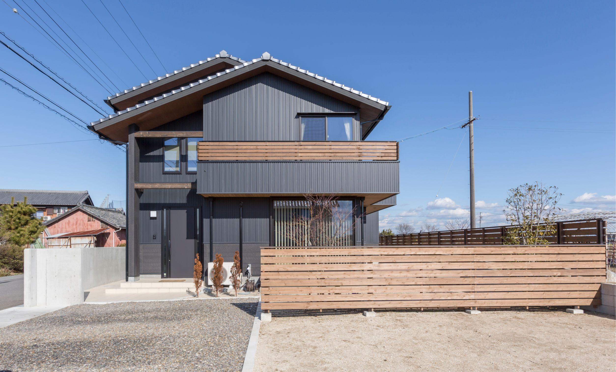 丸洋建設 ハウスオブハウス【趣味、間取り、ガレージ】周囲と調和の取れた外観