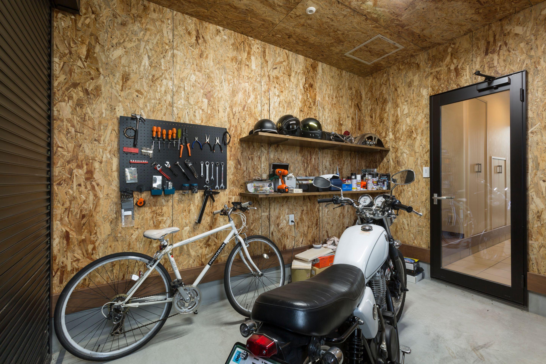 丸洋建設 ハウスオブハウス【趣味、間取り、ガレージ】こだわりのガレージ
