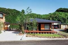 自然を感じる「山景の家」