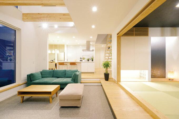 空気が美味しい創エネ住宅は 家事ラク&快適なスマート設計