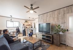 「好き」と暮らしやすさを詰め込んだ事務所併設住宅