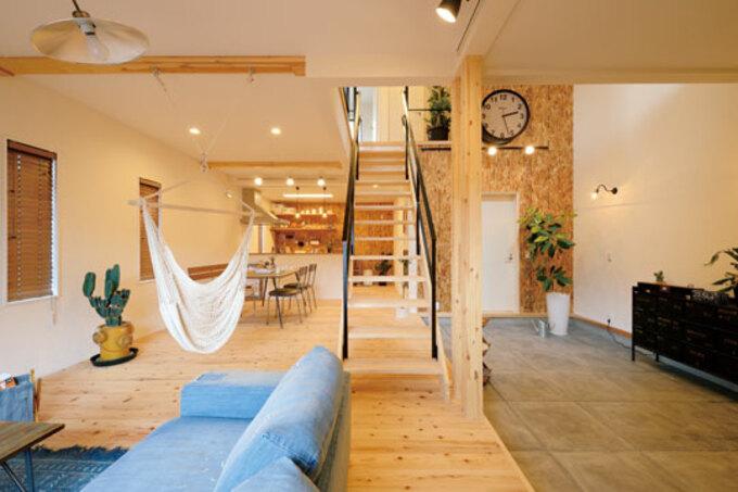 1,000万円台からはじめる家づくり 漆喰と無垢の心地よい家