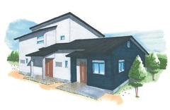8月22日(土)23日(日)@菊川 「2家族がそれぞれの生活リズムでのんびり暮らす高性能のSWEET HOME」見学会