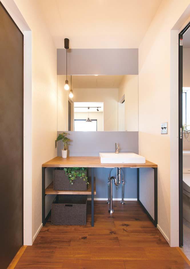 ワンズホーム【デザイン住宅、建築家、インテリア】洗面台までオリジナル