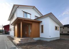 すべて国産材を使った上質な木の家