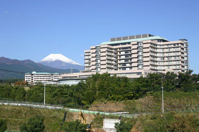 世界最先端の医療をめざす「がんセンター」(写真提供:長泉町)