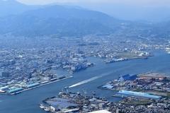 清水港周辺(写真提供:静岡市)
