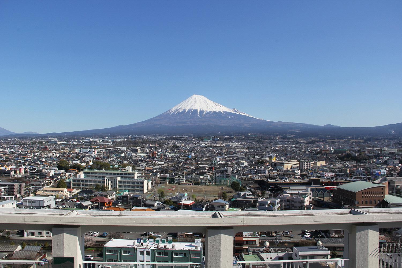 富士市のまちなみ(写真提供:富士市)