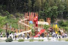 大型で珍しい遊具がいっぱい「22世紀の丘公園」