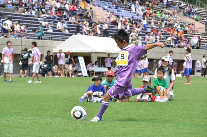 サッカーが盛んな藤枝市。毎年8月には全国PK選手権大会が開催される(写真提供:藤枝市)