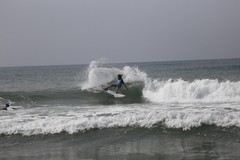 サーフィンが盛んな表浜海岸