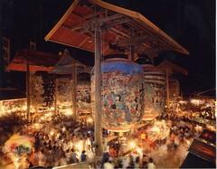 四百数十年の歴史を誇る「三河一色大提灯まつり」(写真提供:西尾市)
