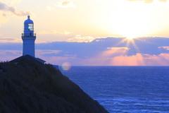 御前崎の最南端に立つ御前埼灯台