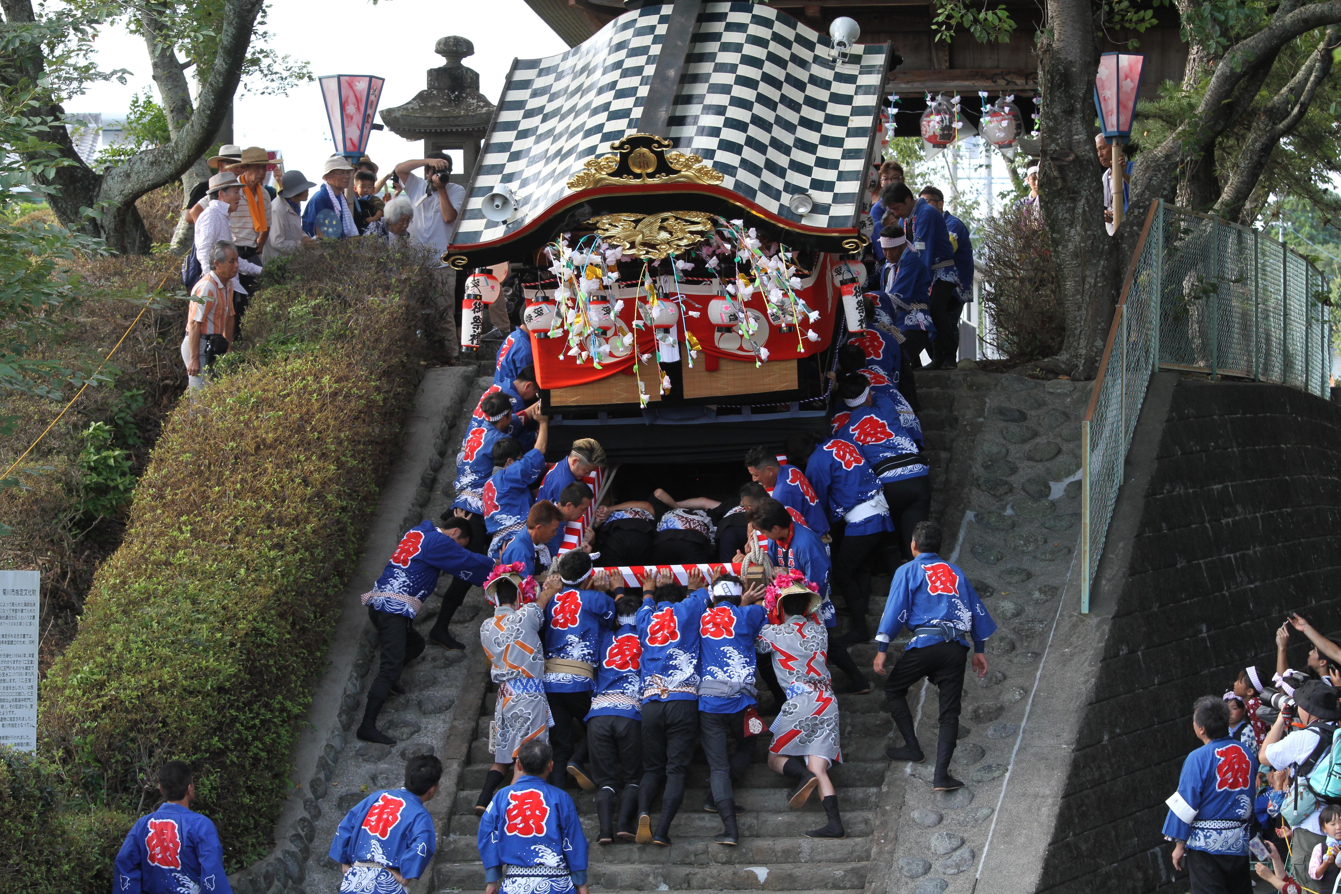 潮海寺祇園祭り(写真提供:菊川市)