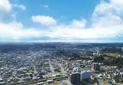 菊川市街地風景(写真提供:菊川市)