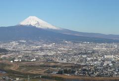 日守山から望む町の様子(写真提供:函南町)